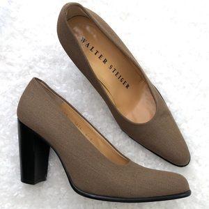 Walter Steiger Women's 80's Inspired Fabric Heels